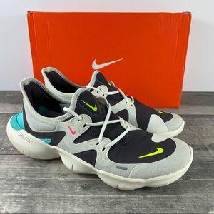 NIB Nike Free Rn 5.0 Running Shoes Grey Size 9.5